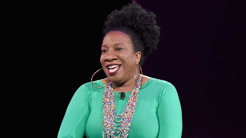 Tarana Burke speaks onstage during The 2019 MAKERS Conference at Monarch Beach Resort on February 8, 2019 in Dana Point, California.