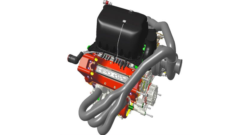 Hpd Prepares New 2014 Lmp1 Customer Engine