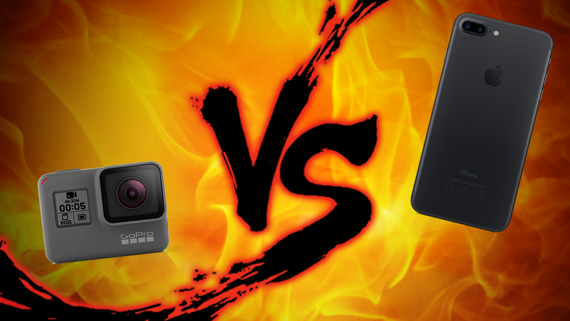 Illustration for article titled Action Camera Showdown: GoPro vs Smartphones