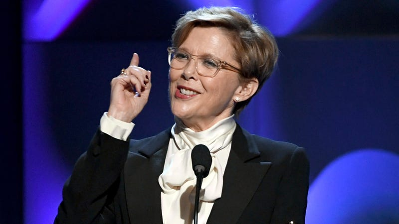 Annette Bening speaks onstage during the 21st Annual Hollywood Film Awards.