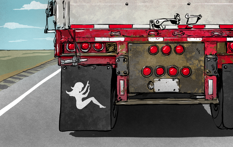 Unhappy Trails Female Truckers Say They Faced Rape And