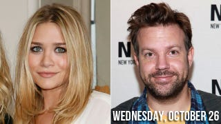 Illustration for article titled Ashley Olsen Gets With Jason Sudeikis