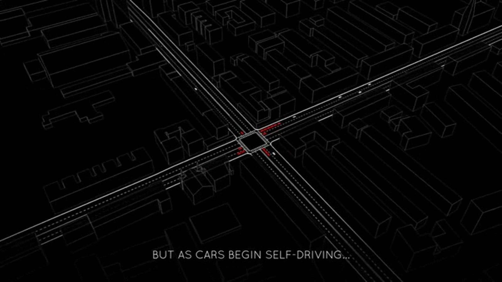 When Autonomous Vehicles Roam the Roads, We Won't Need Stop Lights