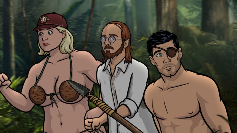 Illustration for article titled David Cross returns to Archer to remind us of other, better island adventures