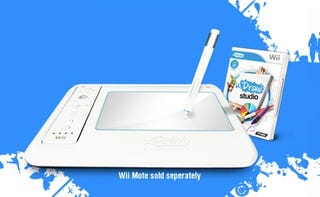 Illustration for article titled Wii Getting Tablet Peripheral