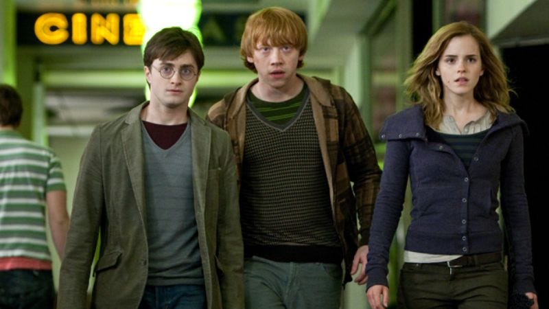 Illustration for article titled Harry Potter And The Deathly Hallows: Part 1