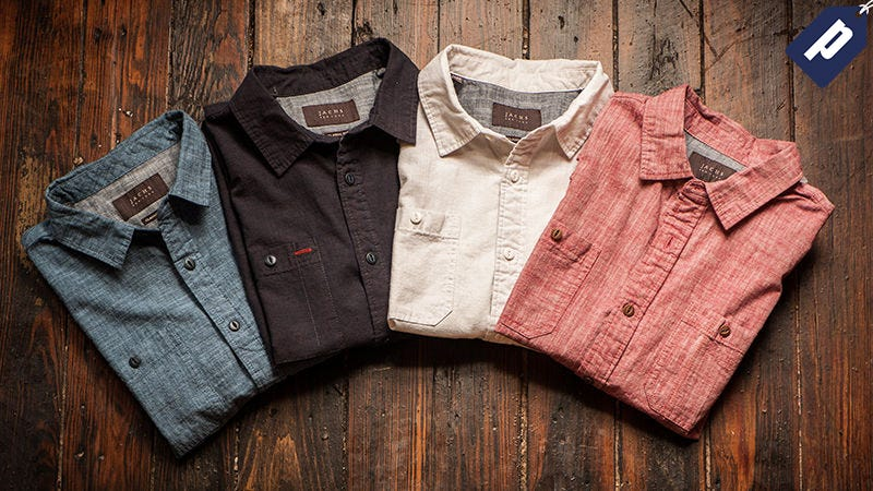 Slub Chambray Shirts
