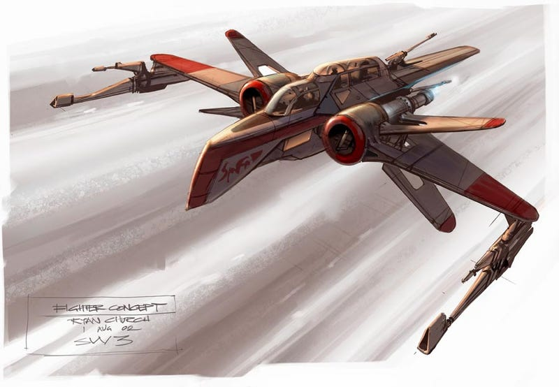 Illustration for article titled Concept Art That Reimagines The Greatest Space Epics