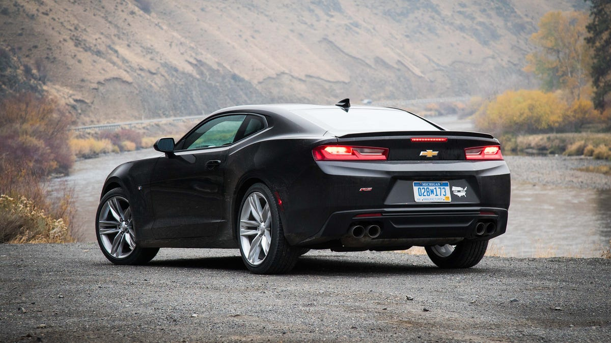 A Basic 2016 Chevrolet Camaro V6 Is The Most Surprising ...