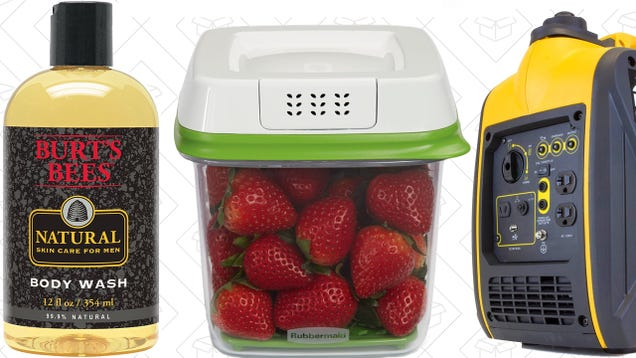 Today's Best Deals: JetBlue Flights, FreshWorks Containers, Burt's Bees