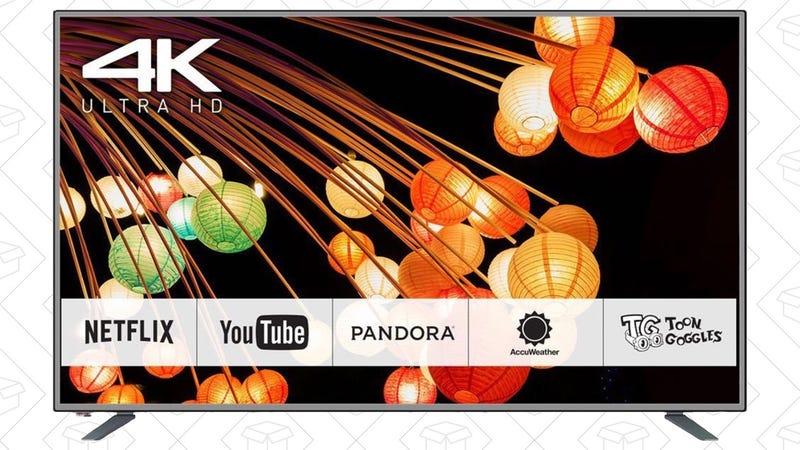 """65"""" Panasonic 4K TV, $999"""