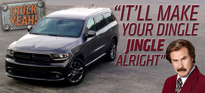 Illustration for article titled 2014 Dodge Durango R/T AWD: The Truck Yeah! Review