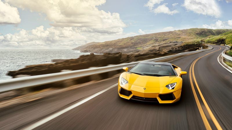 Illustration for article titled Your Ridiculously Awesome Lamborghini Aventador Wallpaper Is Here