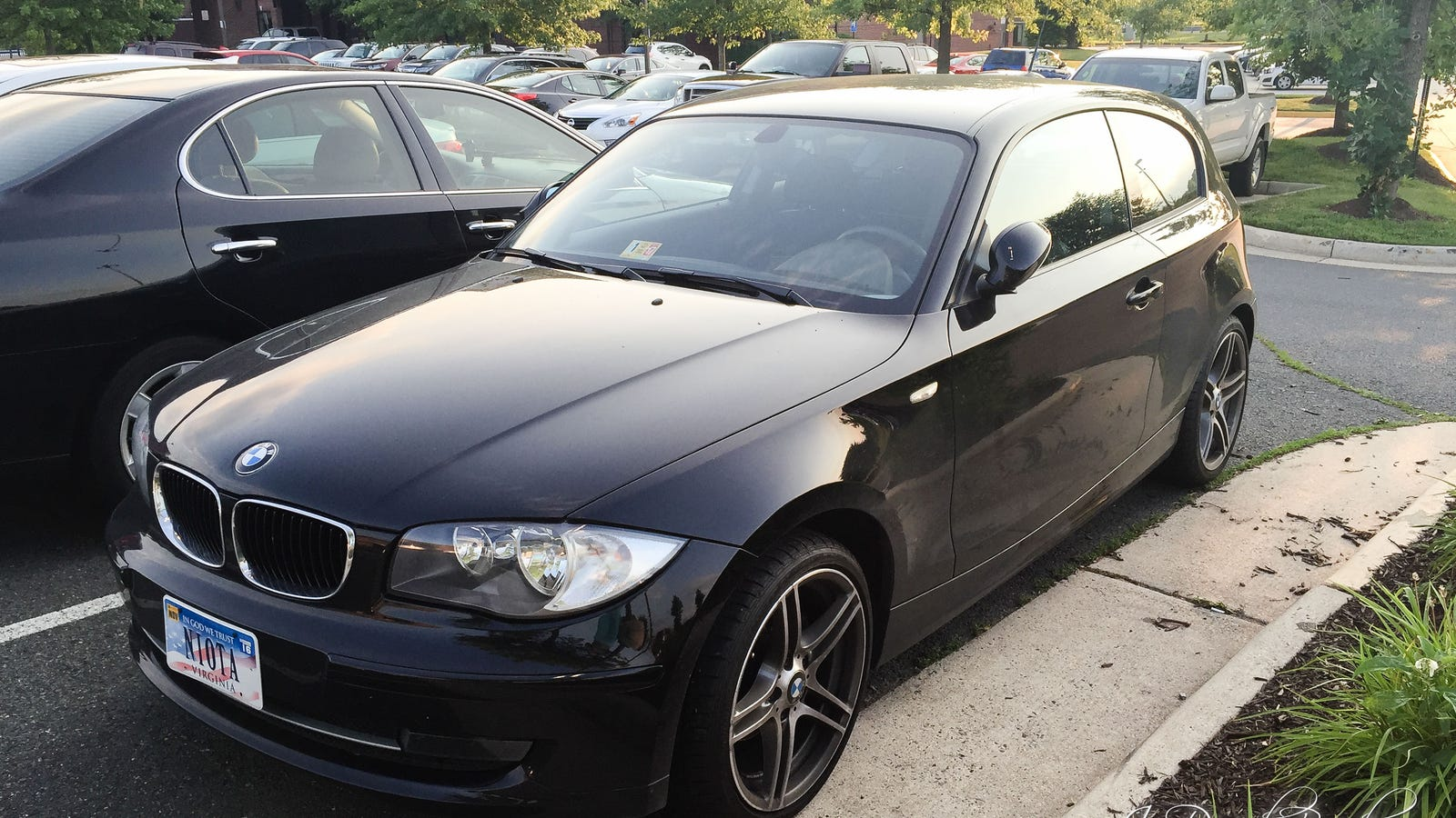 BMW 116i in the USA
