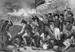 The Battle of New Orleans, January 1815. Copy of engraving by H.B. Hall after W. Momberger., circa 1900-1982 (National Archives).Wikimedia Commons