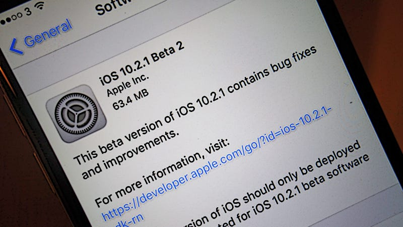 how to get official ios