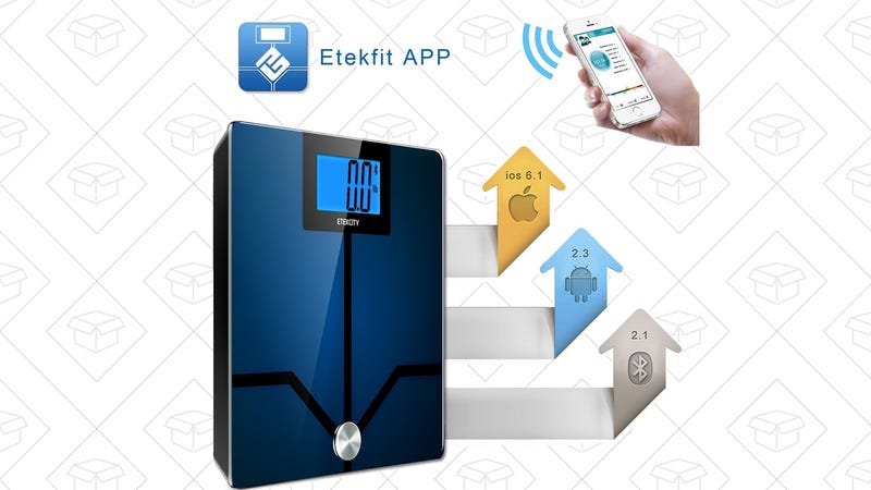 Etekcity Etekfit Smart Bluetooth Scale, $30 with code HDQERFN8