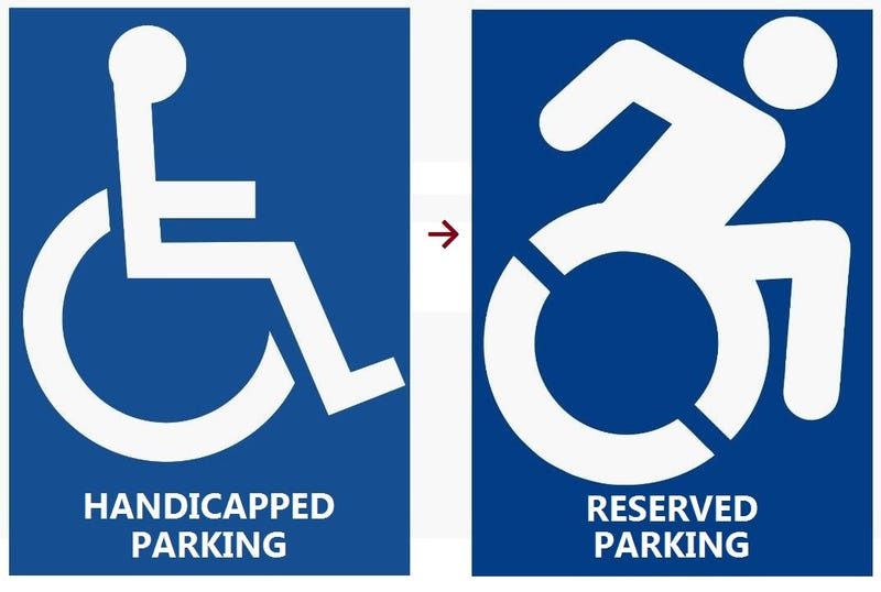 Illustration for article titled Apparently, Connecticut needed new handicapped parking signs