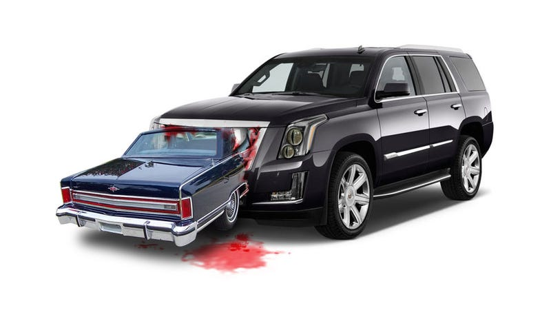 Illustration for article titled The Luxury SUV Has Killed The Luxury Sedan