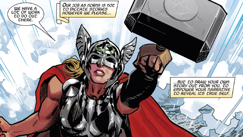 All Images: Marvel Comics. Mighty Thor #700 art by Daniel Acuña