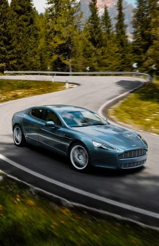 Illustration for article titled 2010 Aston Martin Rapide Finally Ready For Production