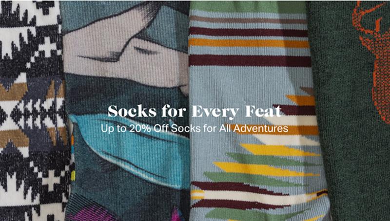 20% Off Select Socks   Backcountry