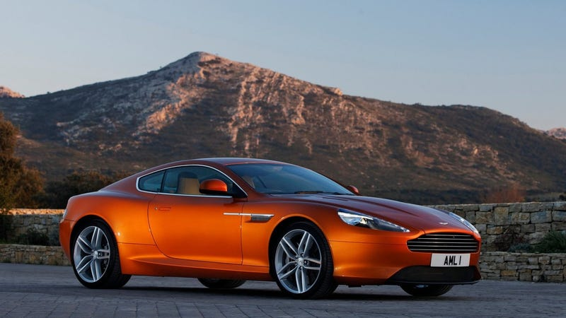 Illustration for article titled You've Already Forgotten About The Aston Martin Virage