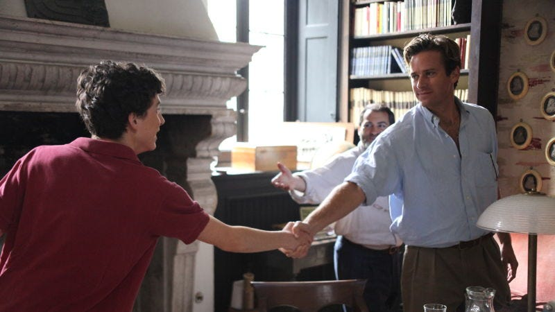 Illustration for article titled Call Me By Your Name's book sequel gets a title and a release date