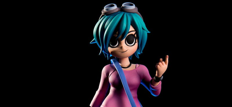 Mondo is releasing this awesome Ramona Flowers figure on Tuesday. All Images: Mondo