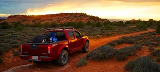 Illustration for article titled 2014 Nissan Frontier PRO-4X Off-Road Review: Fear And Loathing In Moab