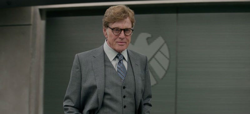 Robert Redford, seen here in Captain America: The Winter Soldier, will discover the afterlife in his new movie. Image: Marvel Studios