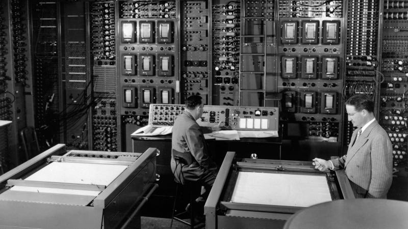 Appliance Park's 1950s UNIVAC computer in action. | New GE A… | Flickr
