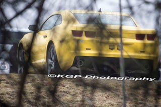 Illustration for article titled 2010 Chevy Camaro Caught Wearing Velocity Yellow