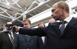 Illustration for article titled Putyin elnök felskiccelte Európát a világtérképre