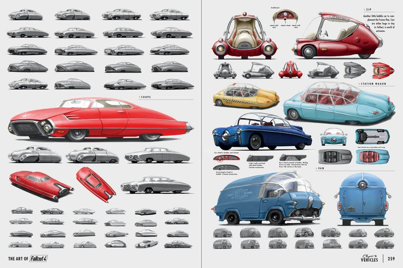 Illustration for article titled I Just Got Fallout 4, and These Cars