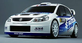 Illustration for article titled Super-Duper Hoonage Potential; Suzuki To Take On WRX & EVO