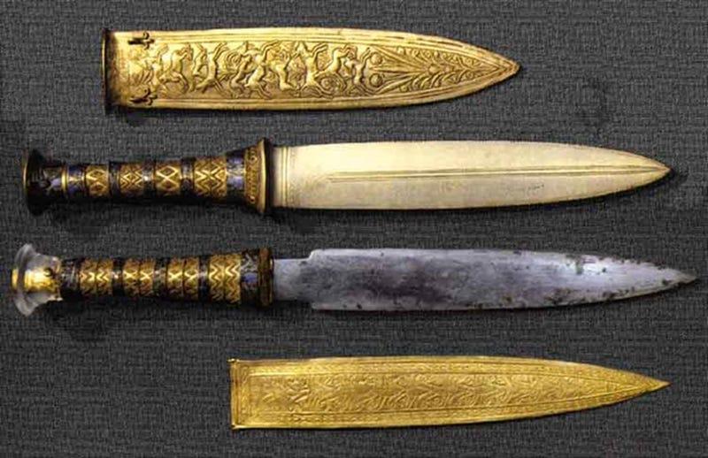 El hierro trabajado en la Edad de Bronce procedía de meteoritos