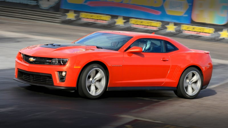 Illustration for article titled 2012 Chevy Camaro ZL1: First Drive
