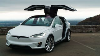 Illustration for article titled Tesla Model X 5-Seater