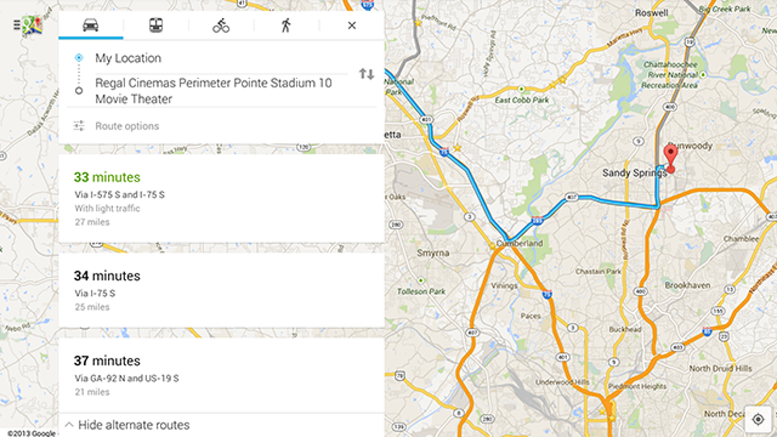 Google Maps Refreshes Its Android Ui Adds Traffic Reports And More