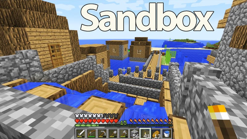 Illustration for article titled The Importance of Minecraft and Other Sandbox Games