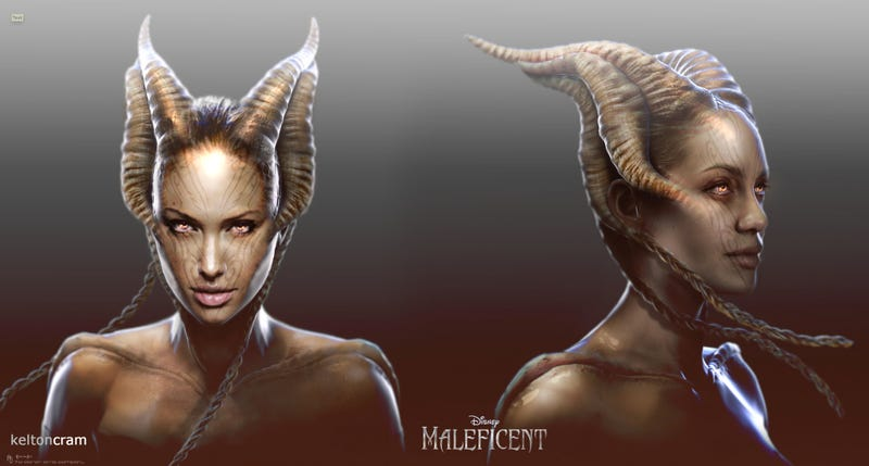 Illustration for article titled Angelina Jolie Was Almost A Sith In Maleficent