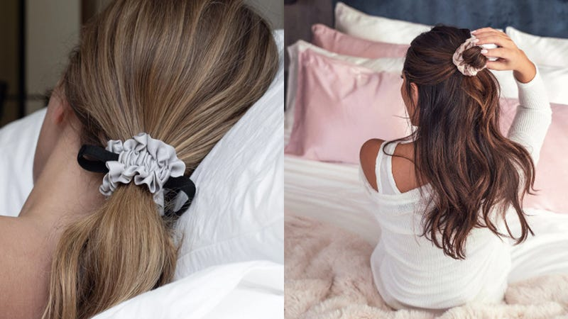 The Best Scrunchies For Sleeping, If You Want to Actually Wake Up to Good Hair