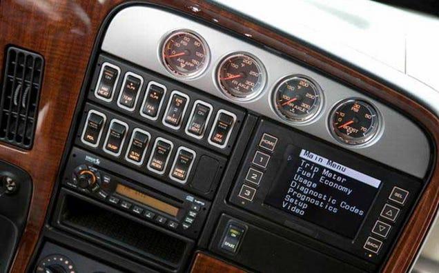 Custom 18 Wheelers Interior