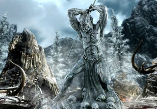 Illustration for article titled Skyrim Statue Isn't Evil, Just Misunderstood