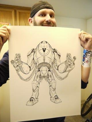 Illustration for article titled Sucker Punch concept art