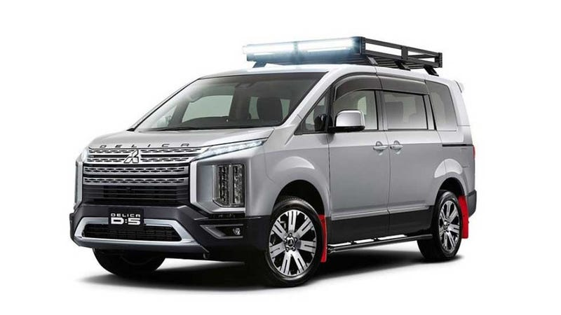 Illustration for article titled Mitsubishi's New Delica Concept Is Your Perfect Overlanding Dream Van