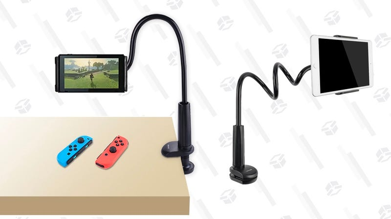 Tryone Gooseneck Tablet Stand, Tablet Mount Holder | $14 | Amazon | Promo code 8PPCPJ69