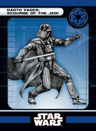 Illustration for article titled Knights of the Old Republic Expansion for the Star Wars Miniatures Game