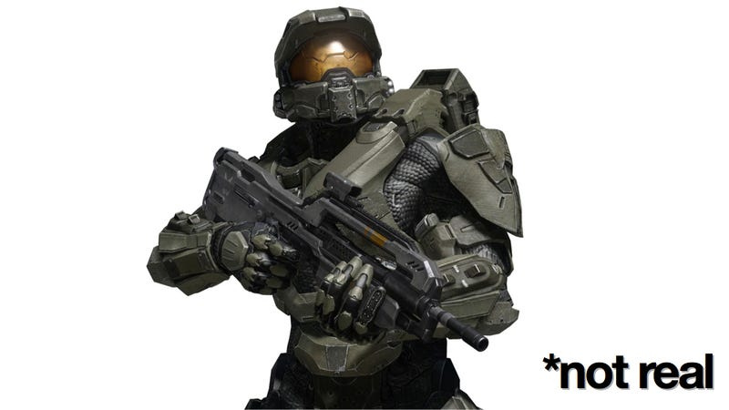 Illustration for article titled No, China, Master Chief's Battle Suit Is Not Real